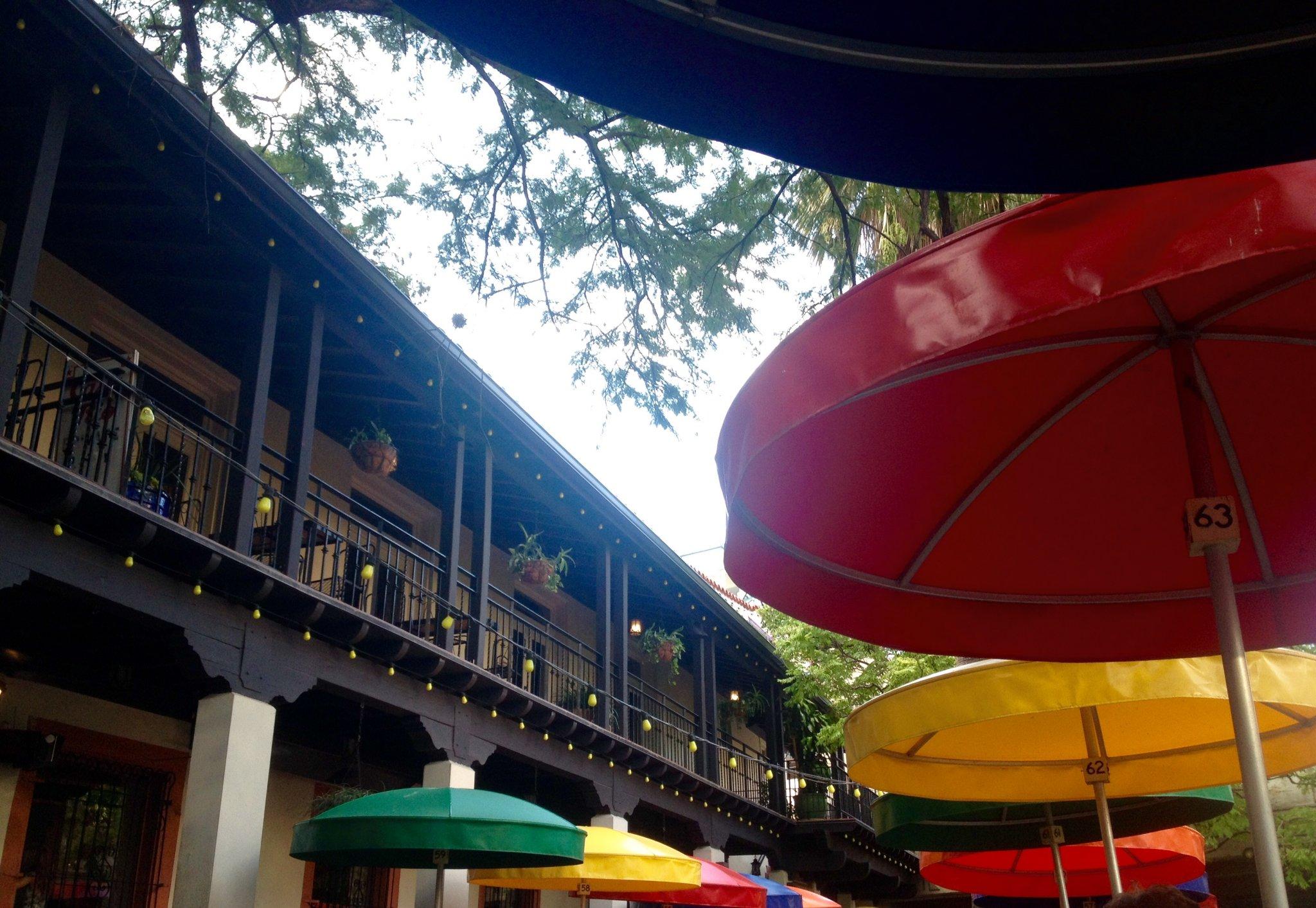 River Walk Restaurants: Casa Rio is one of the Best Restaurants by the River Walk. Check out those umbrellas!