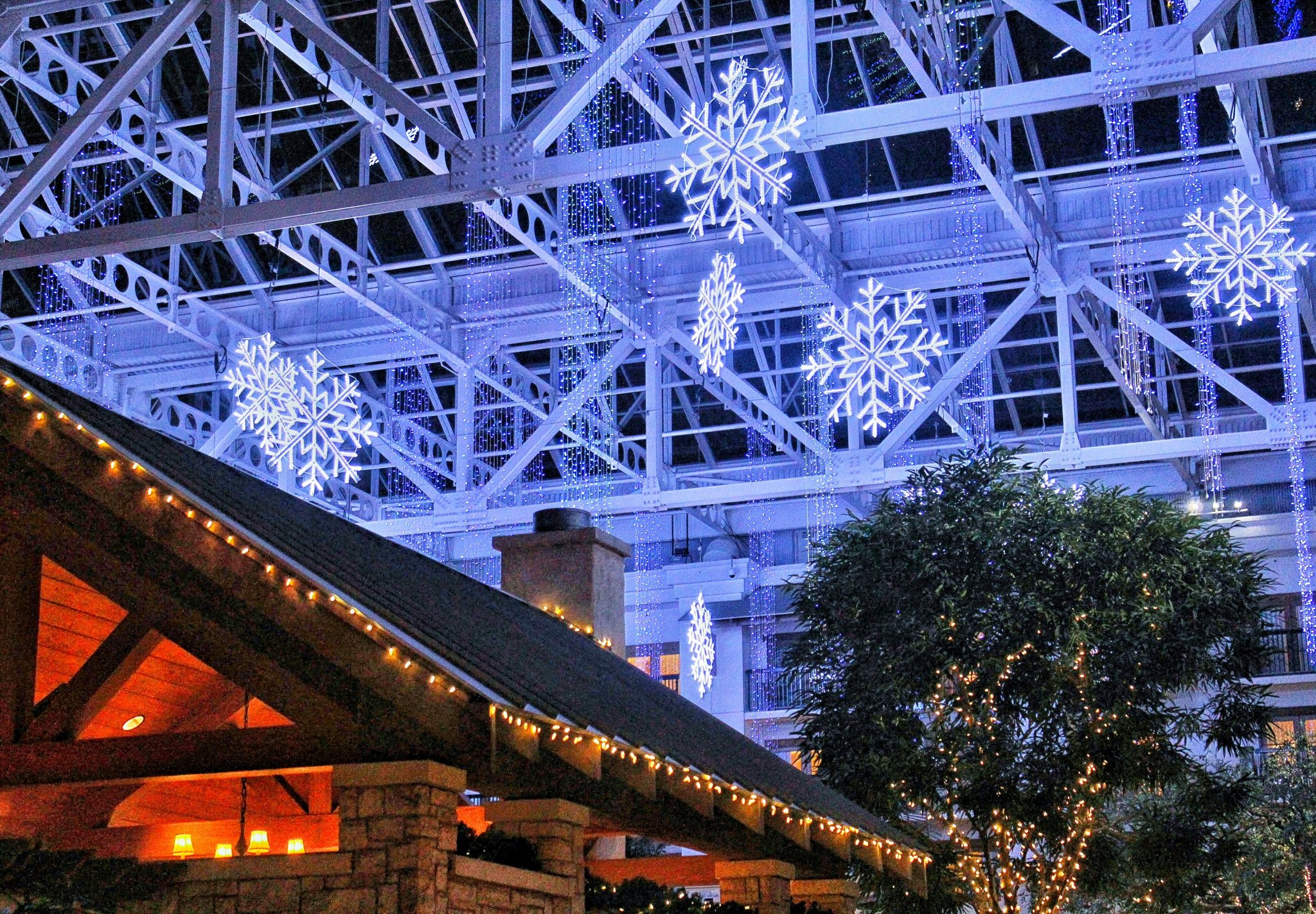 Winter Wonderland at the Gaylord Texan Resort Hotel & Conference Center