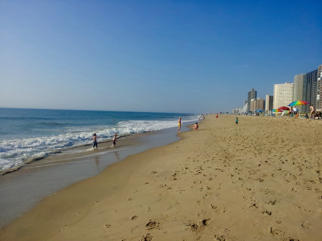 Quick Guide to Ocean City: the South End of the Beach is generally less crowded