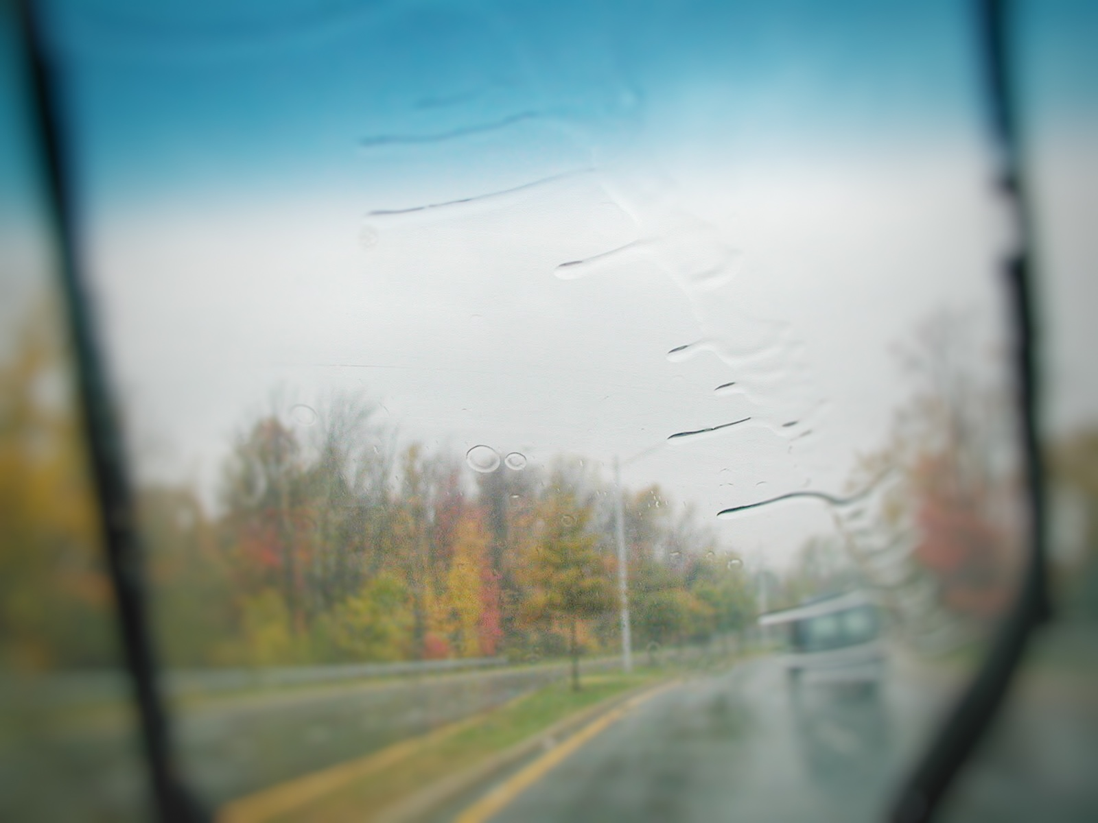 Ultimate Rental Car Guide...blurry window picture (cause I try to be artsy)