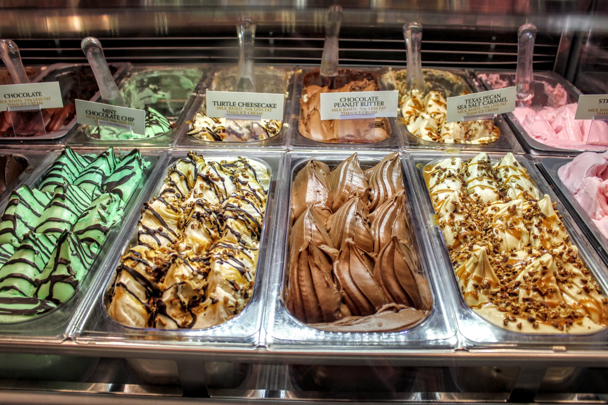 Just look at those colourful spoonfuls of gelato!!! Quick Guide to Amarillo