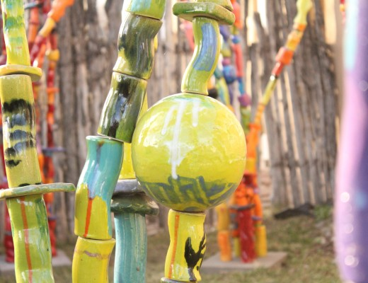 Guide to Canyon Road: Bold Glaze in La Mesa Gallery