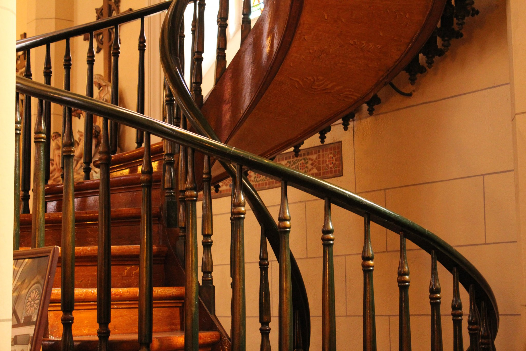 Loretto Chapel Staircase - first spiral
