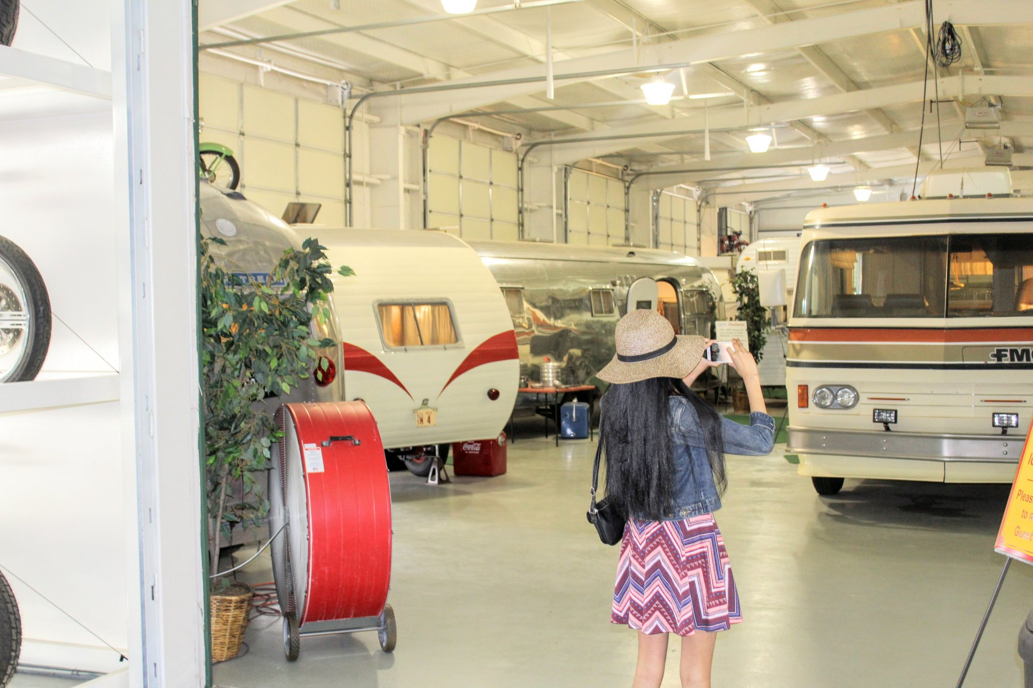 Offbeat Things to Do in Amarillo: RV Museum Entrance