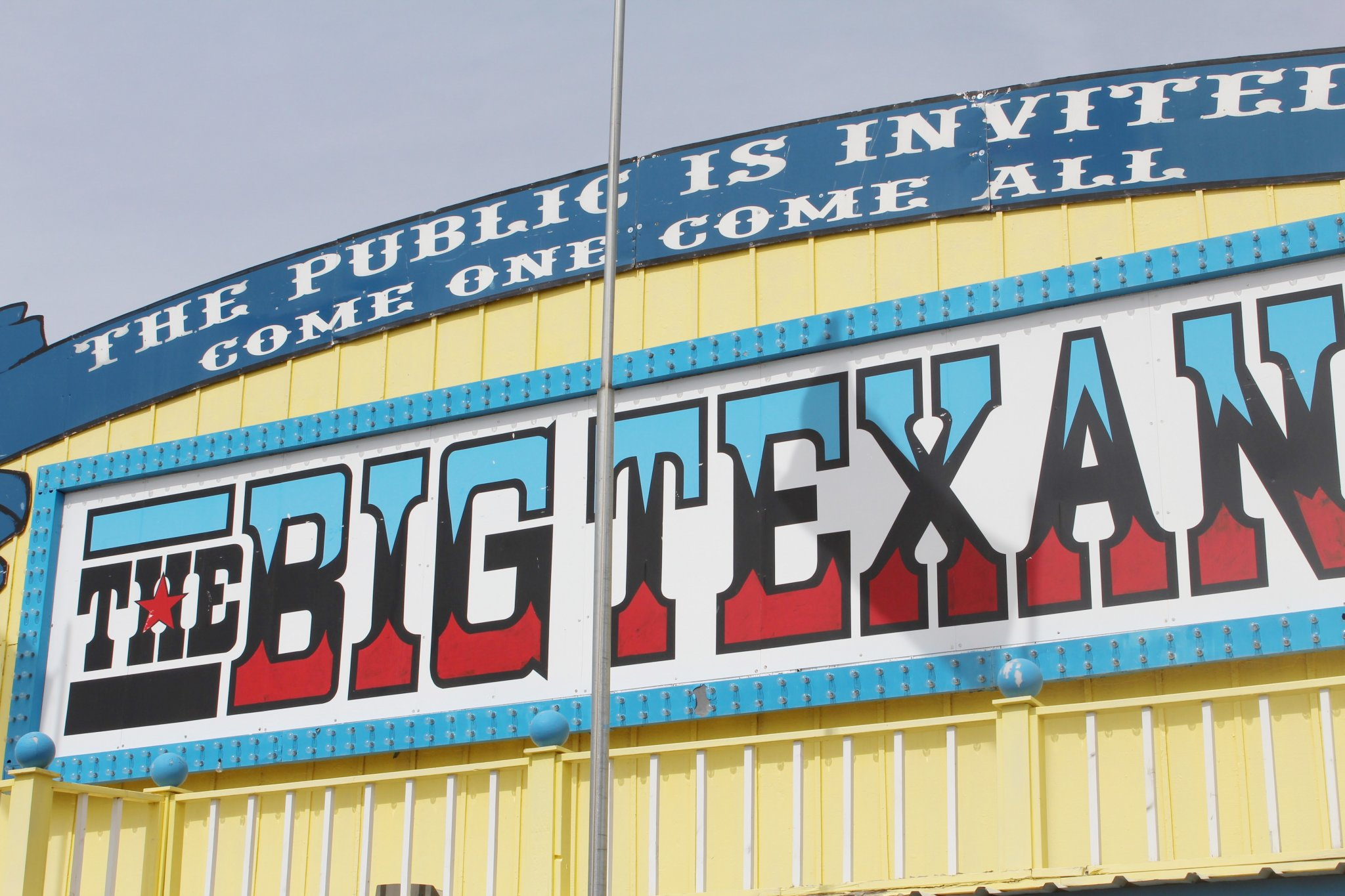 Where to Eat in Amarillo? Big Texan Steak Ranch.