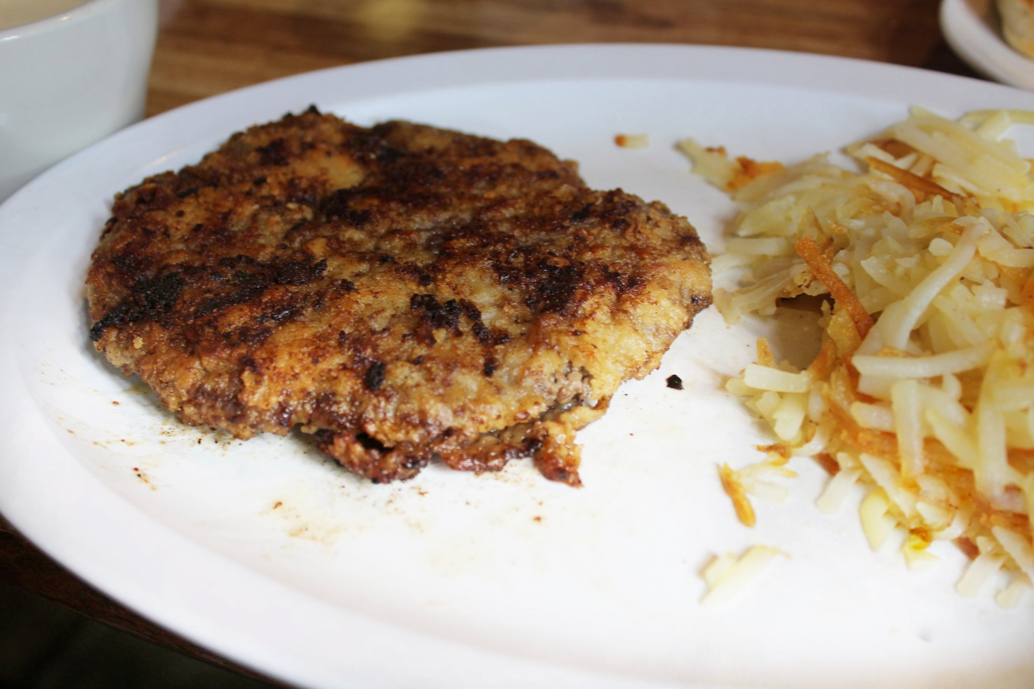 Where to Eat in Amarillo? Chicken Fried Steak at Youngblood's Cafe.