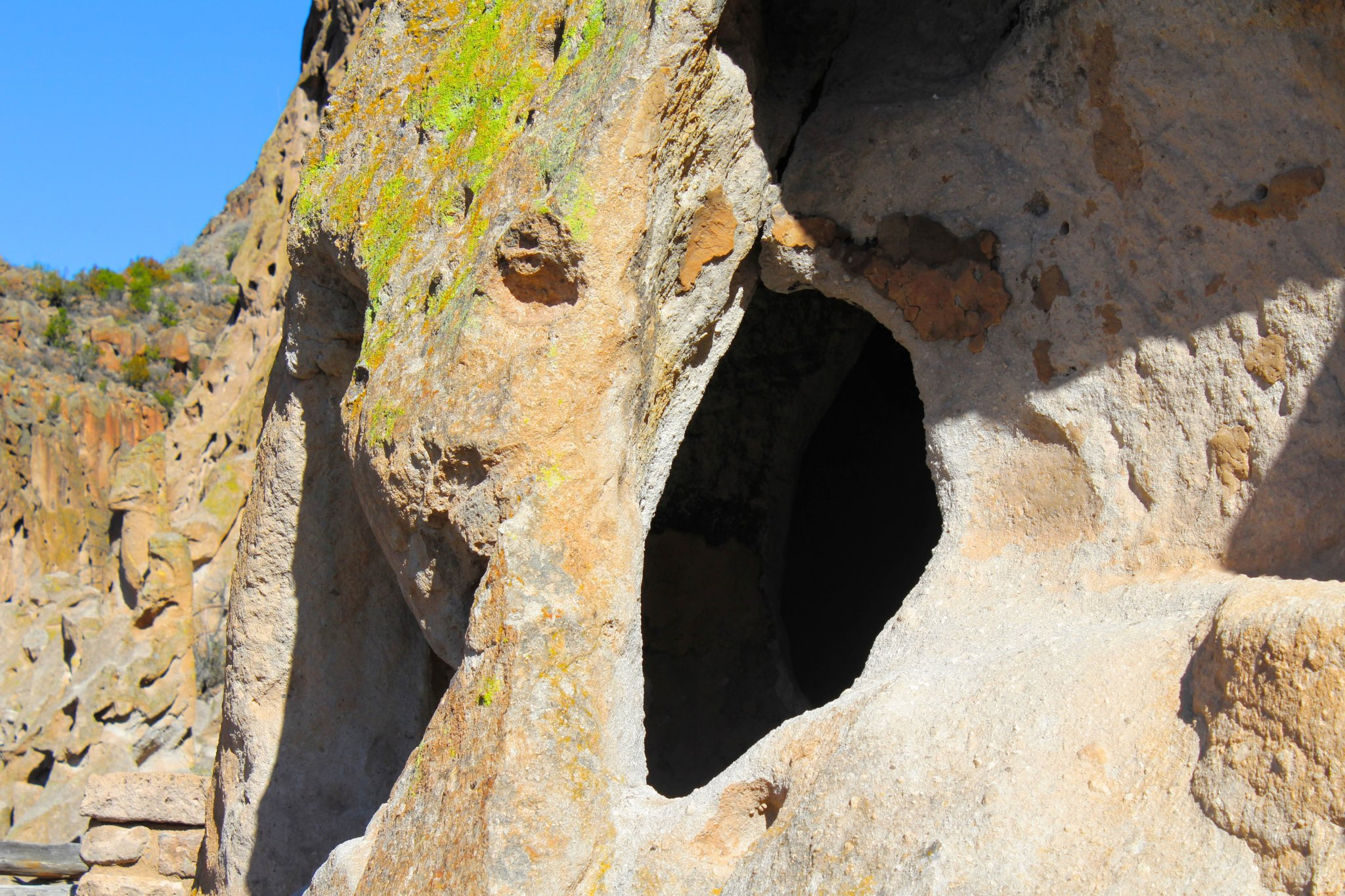 Day Trip From Santa Fe: Cliff Dwellings View Up Close