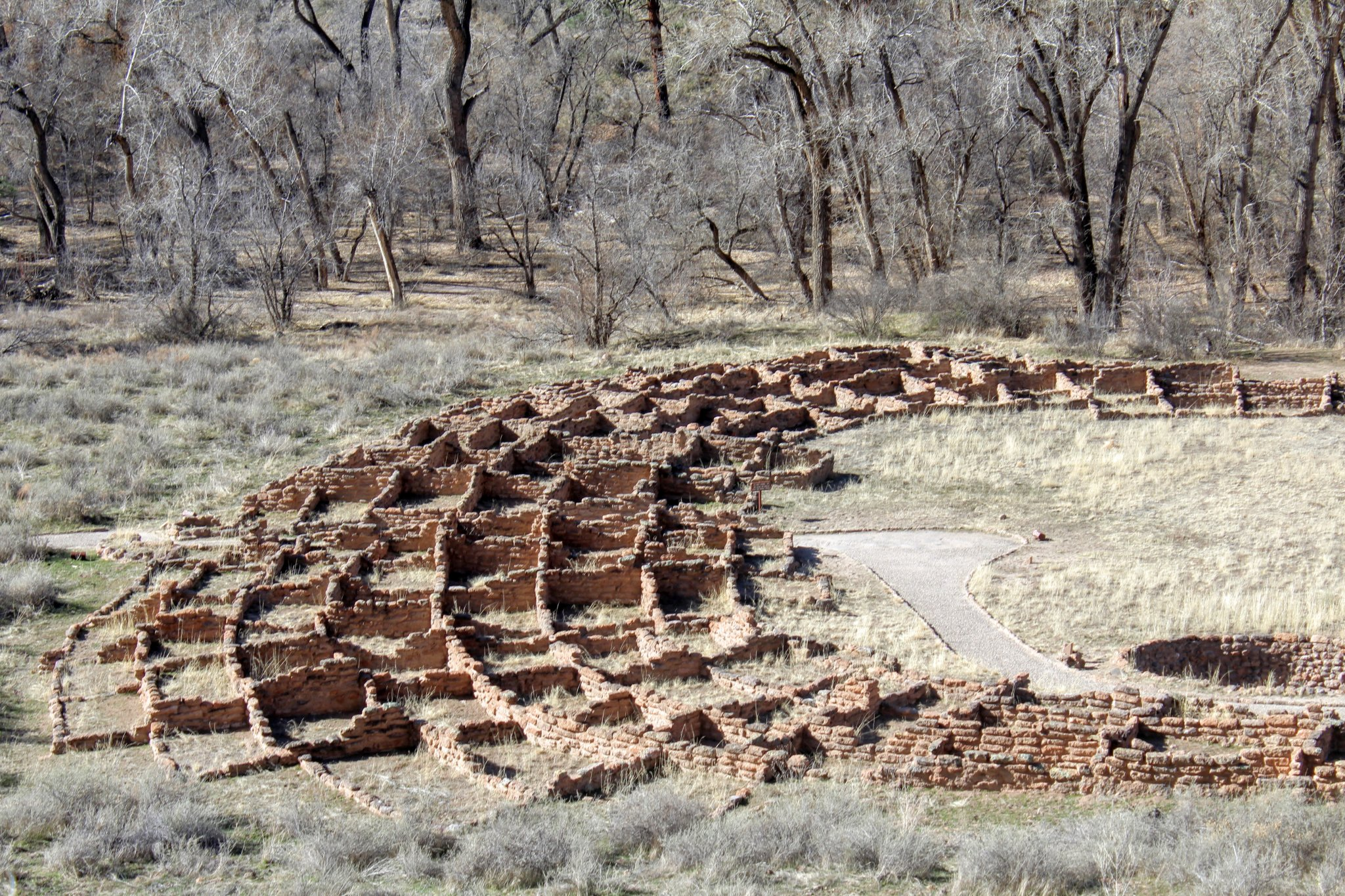 Day Trip from Santa Fe : Kiva remains
