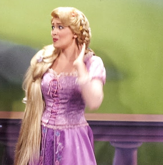 Rapunzel's Face When I Tell Her What Book I'm Reading In MK