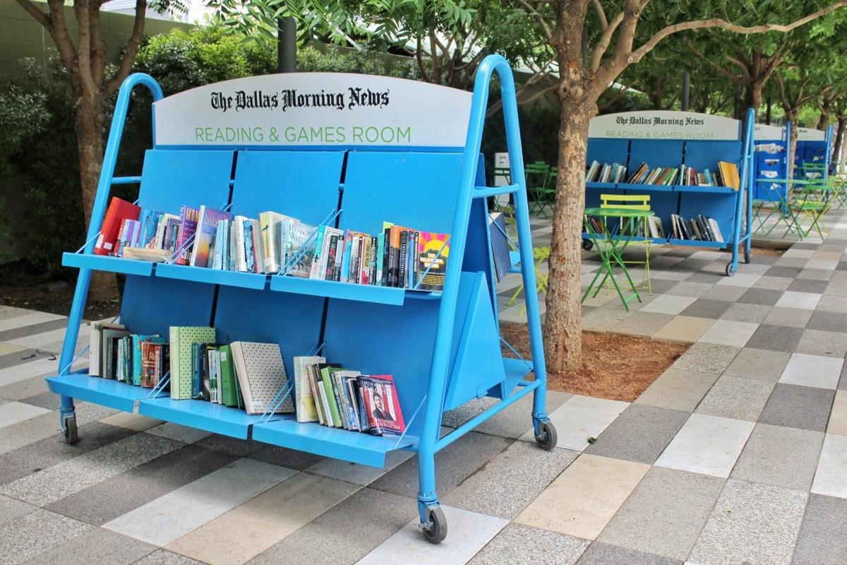 Dallas Arts District: Book Nook