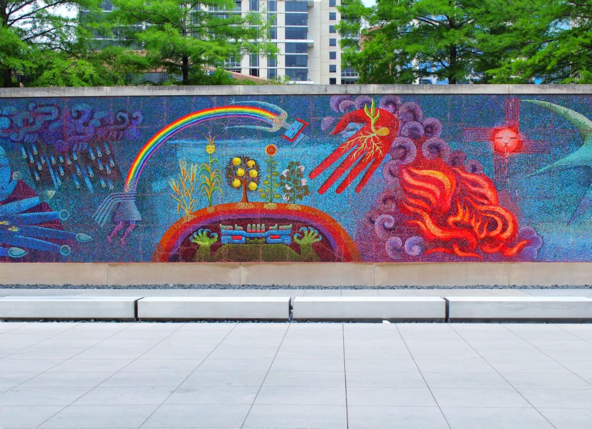 Graffiti wall dallas - Dallas Arts District Dma