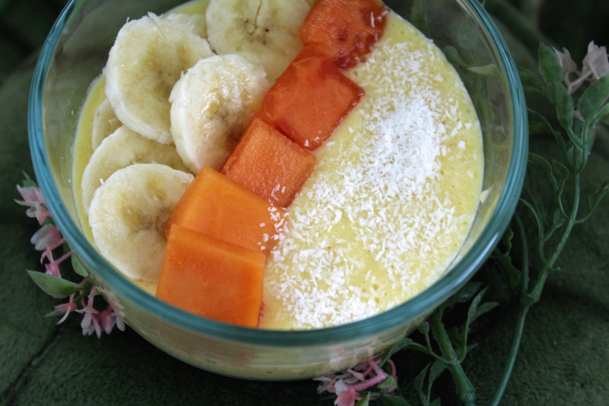 Goa Inspired Mango Smoothie Bowl
