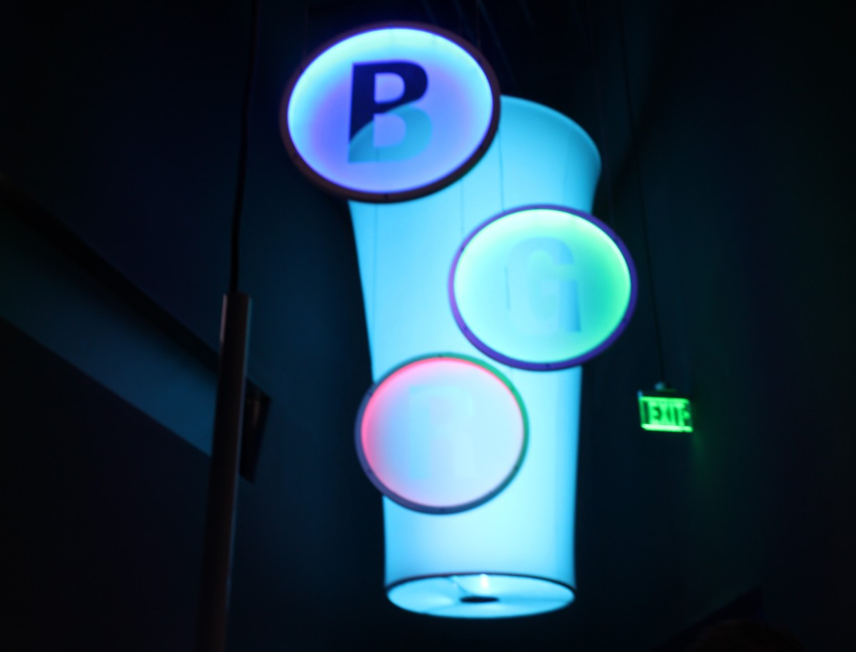 Most Interactive Museum in Texas: Glow Lights