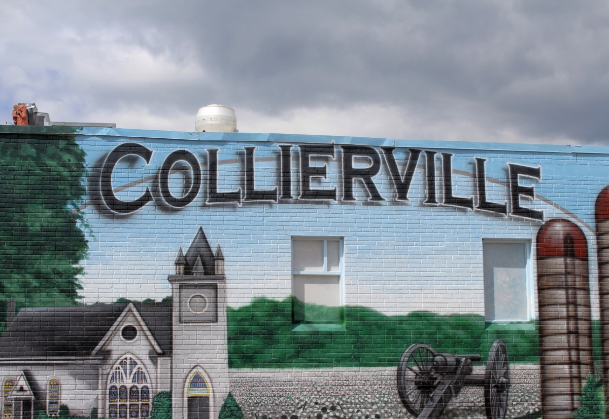 Pocket Guide to Collierville Entrance Sign