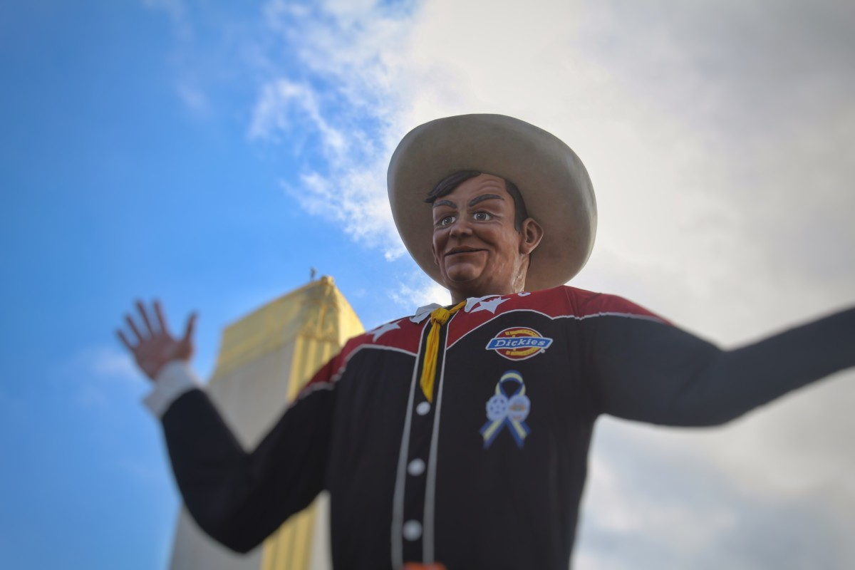Top Things to Do At The State Fair of Texas Big Tex Talking and Smiling