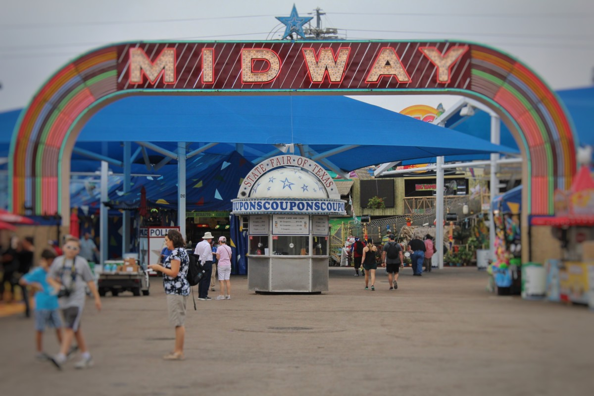 Top Things to Do at the State Fair of Texas Midway Entrance