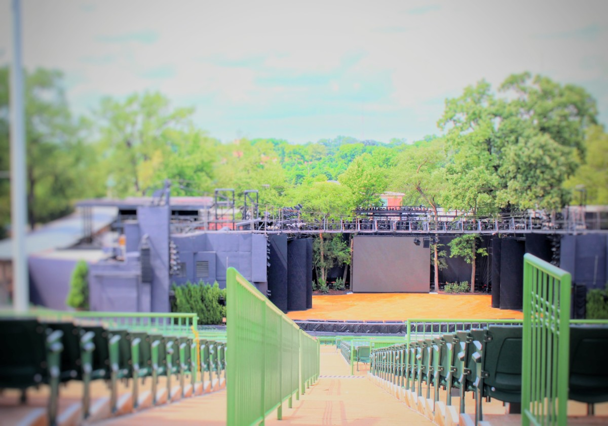 Guide to Forest Park Muny Empty During the Day Summer