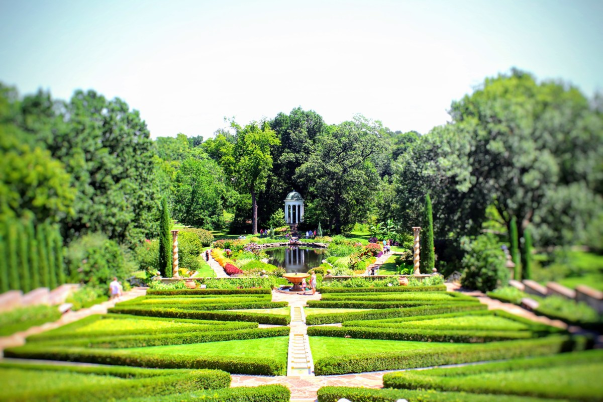 Top 5 Things to Do in Tulsa Oklahoma Visit The Philbrook Museum A Gorgeous Landscape to the Art Museum Summer Pretty Dream Home Landscape