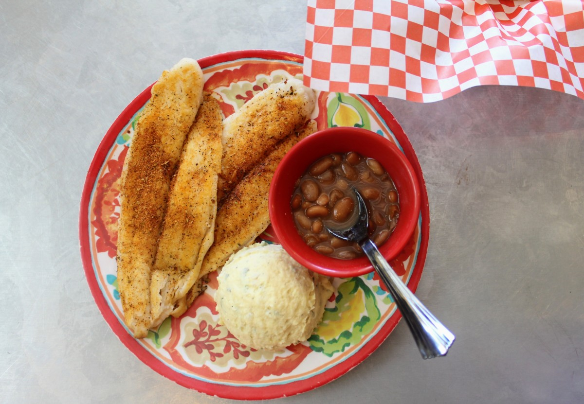 Guide to Granbury: Blackened Catfish