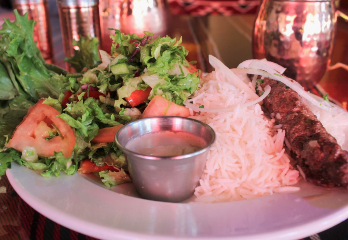 Ranoush has some exotic dishes in Delmar Loop - great food includes beef with Arabic salad