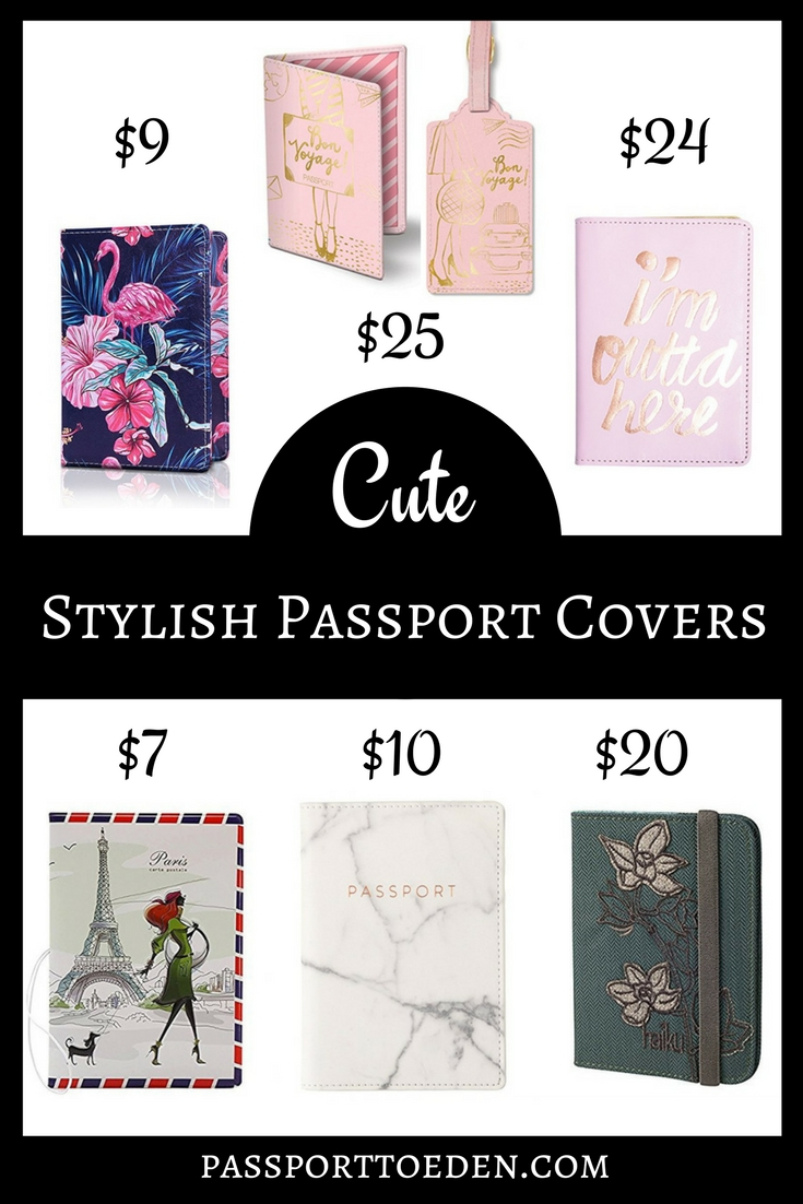 Cute Passport Covers Cheap and Affordable
