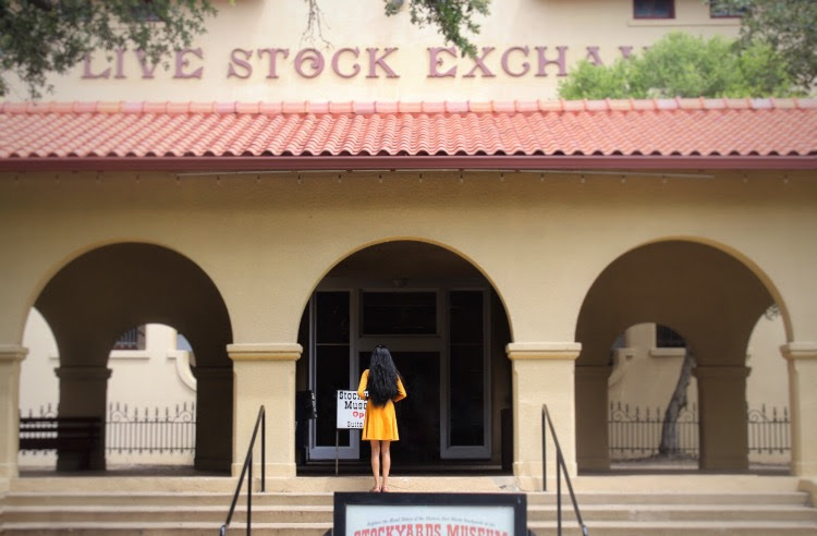 Visiting a gorgeous yellow-tinted building AKA the Stockyards Museum is one of the top things to do at the Fort Worth Stockyards .