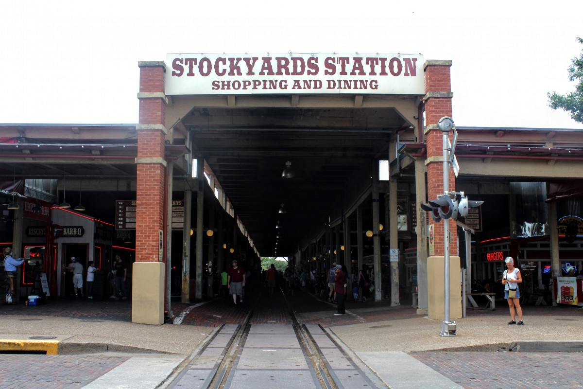 All the shopping and dining at the Stockyards Station is literally one of the most fun things to do at the Fort Worth Stockyards .