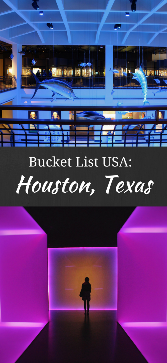 Houston Texas Bucket List Activities