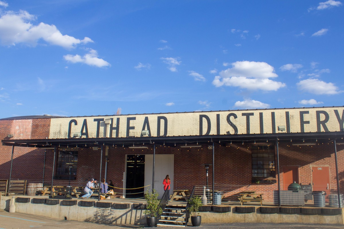 Cathead distillery is one of the most romantic things to do in Jackson Mississippi