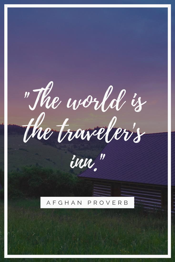 Afghantravelproverbs Passport To Eden