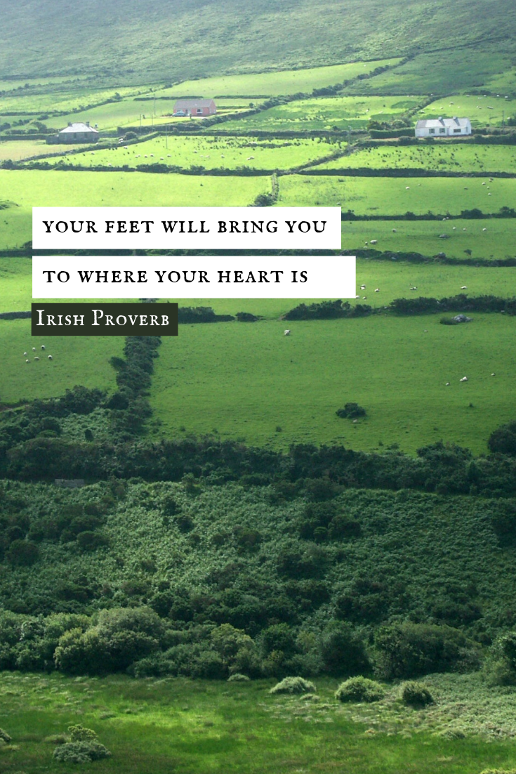 Irish Travel Proverbs Quote