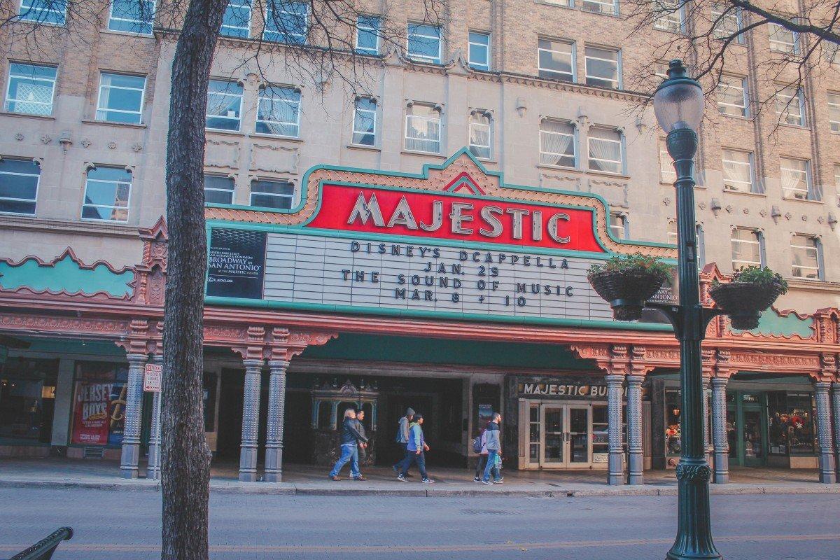 Majestic Theatre In San Antonio