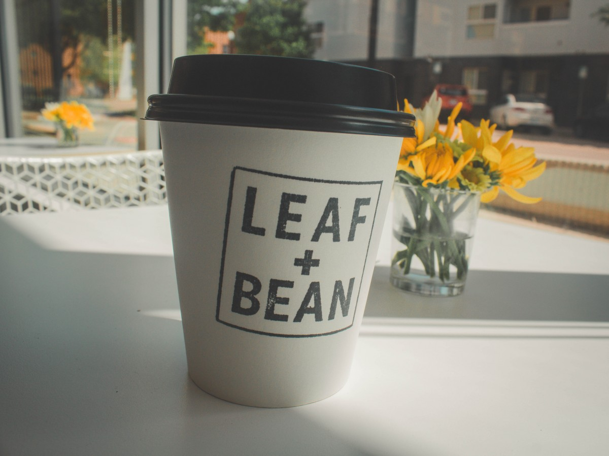 OKC Date Ideas: Coffee Date at Leaf + Bean