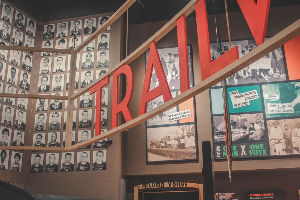 Inside the Civil Rights Museum In Jackson