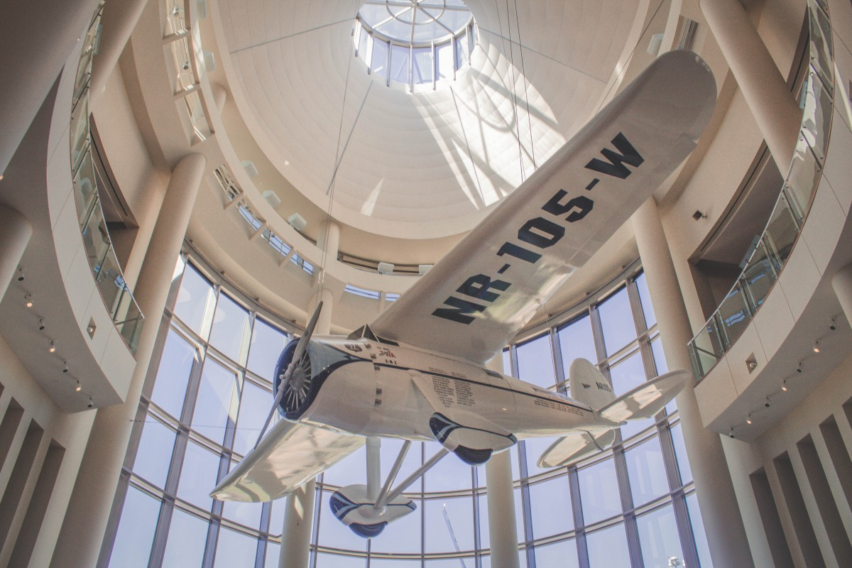 Oklahoma History Museum featured airplane