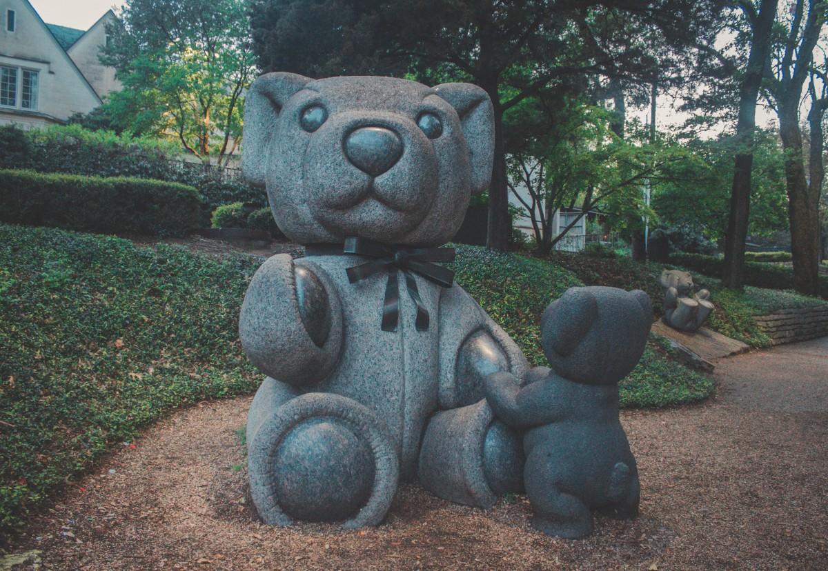 Teddy Bear Park Dallas Statues