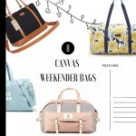 Canvas Weekender Bags Editorial Style Featured Image