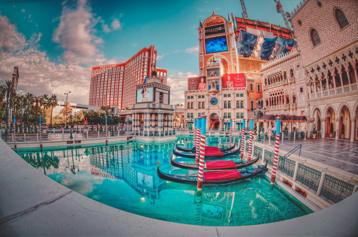 Colorful photo of Las Vegas is one of the top places to go for your 21st birthday