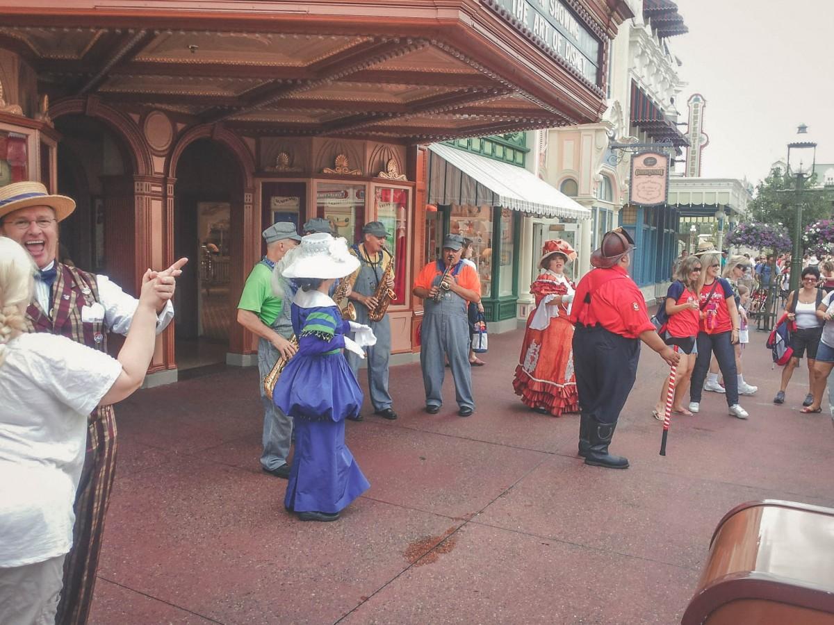 people dressed up in Magic Kingdom
