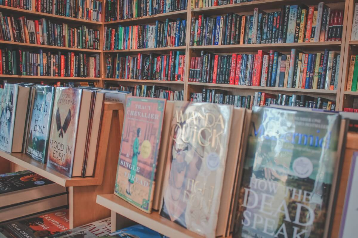 A look at some of the titles offered at the Poisoned Pen bookstore