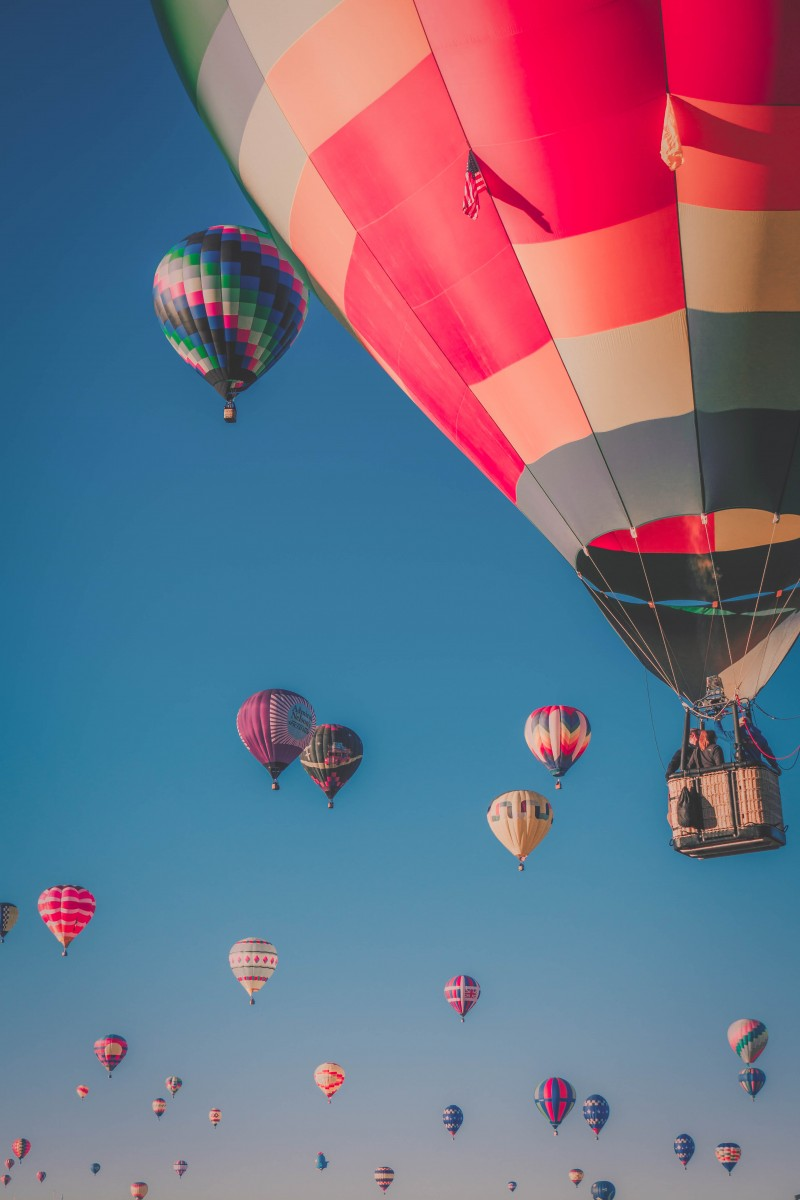 Albuquerque ballon festival. If you plan on seeing the Mass Ascension, fall is the best time to visit Albuquerque.