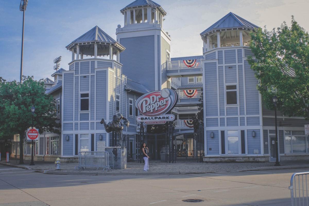 Dr. Pepper Ballpark in Frisco