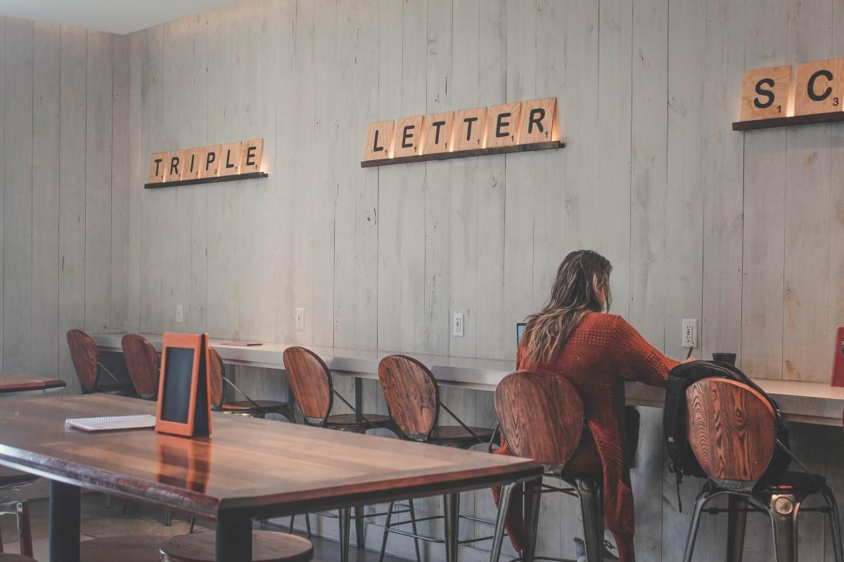 Coworking style coffee shop at Nerdvana