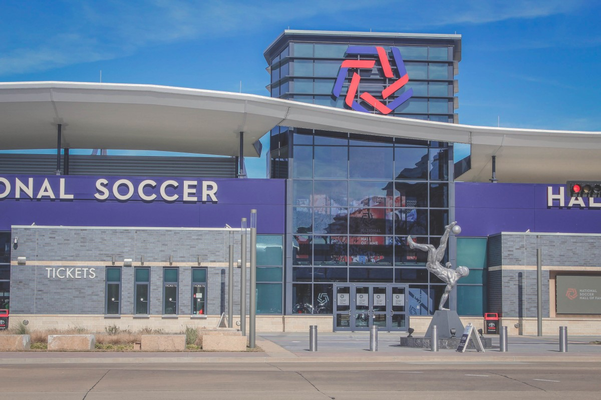 Entrance To Toyota Stadium National Soccer Hall Of Fame