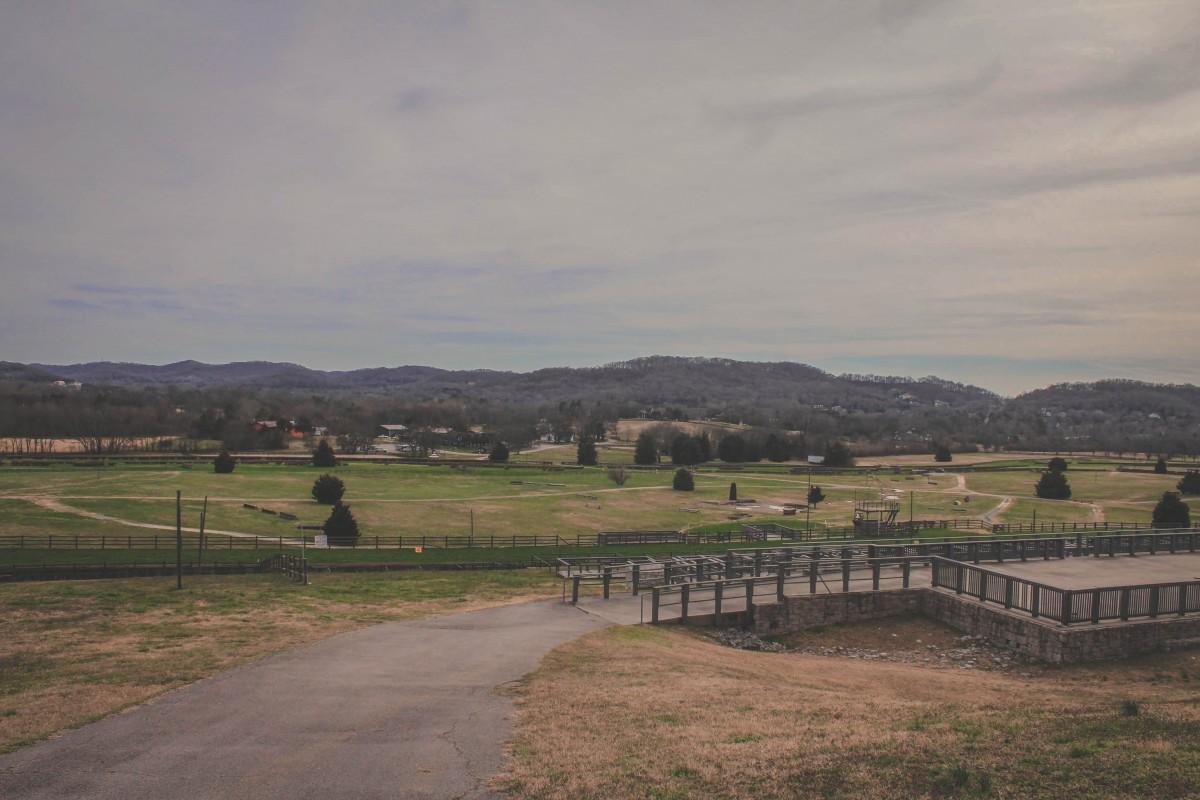 Warner Park Historic District rolling hills