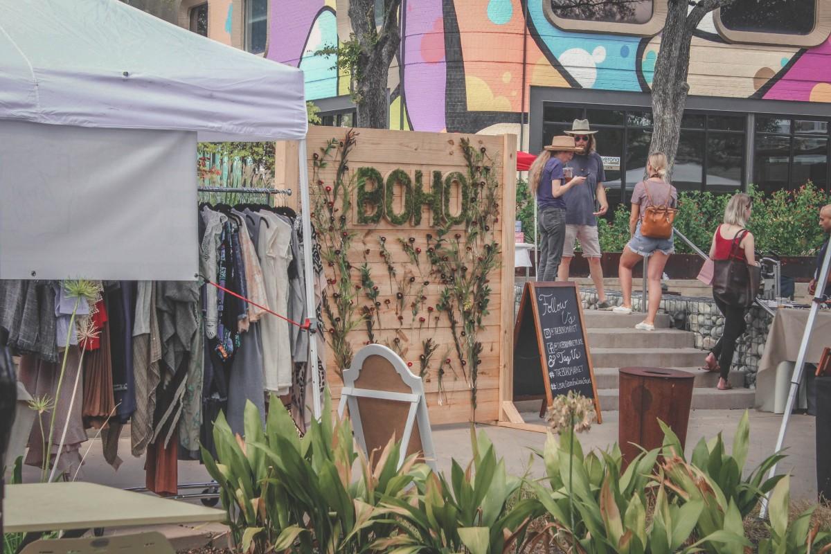 Boho Market at The Hill In Dallas