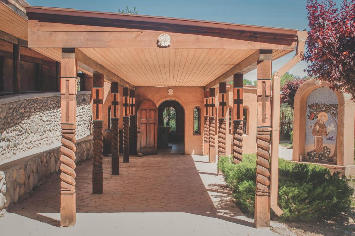 Chimayo back entrance
