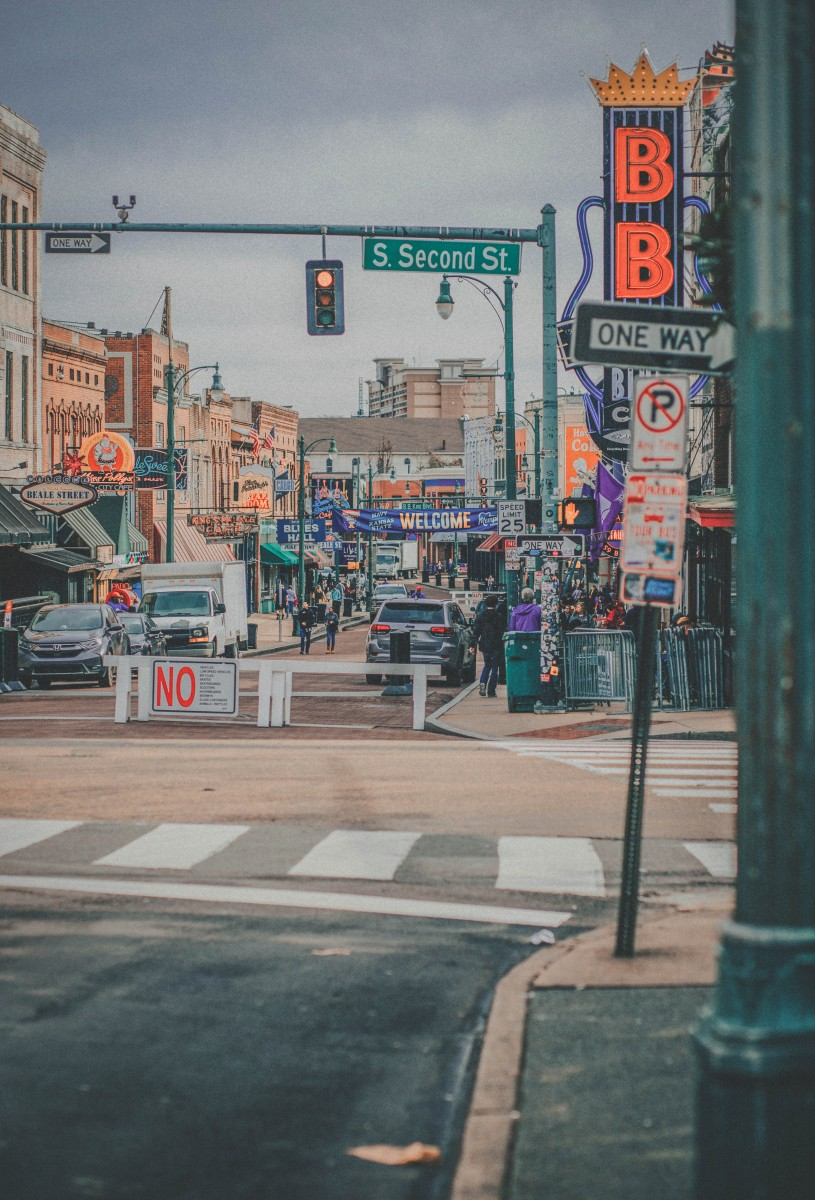 visiting Beale Street during my one day in Memphis