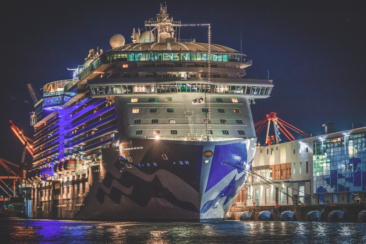 Halifax Giant Cruise Ship