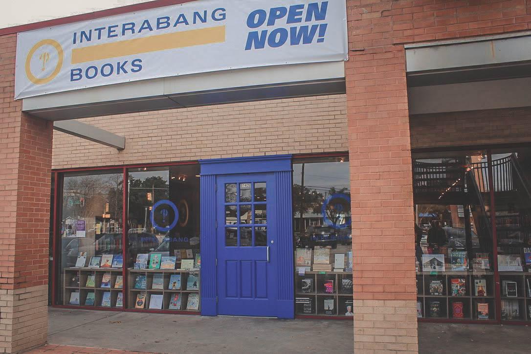 Interabang Books window